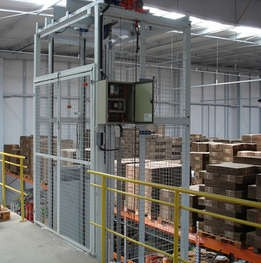 Empresa de elevador de carga